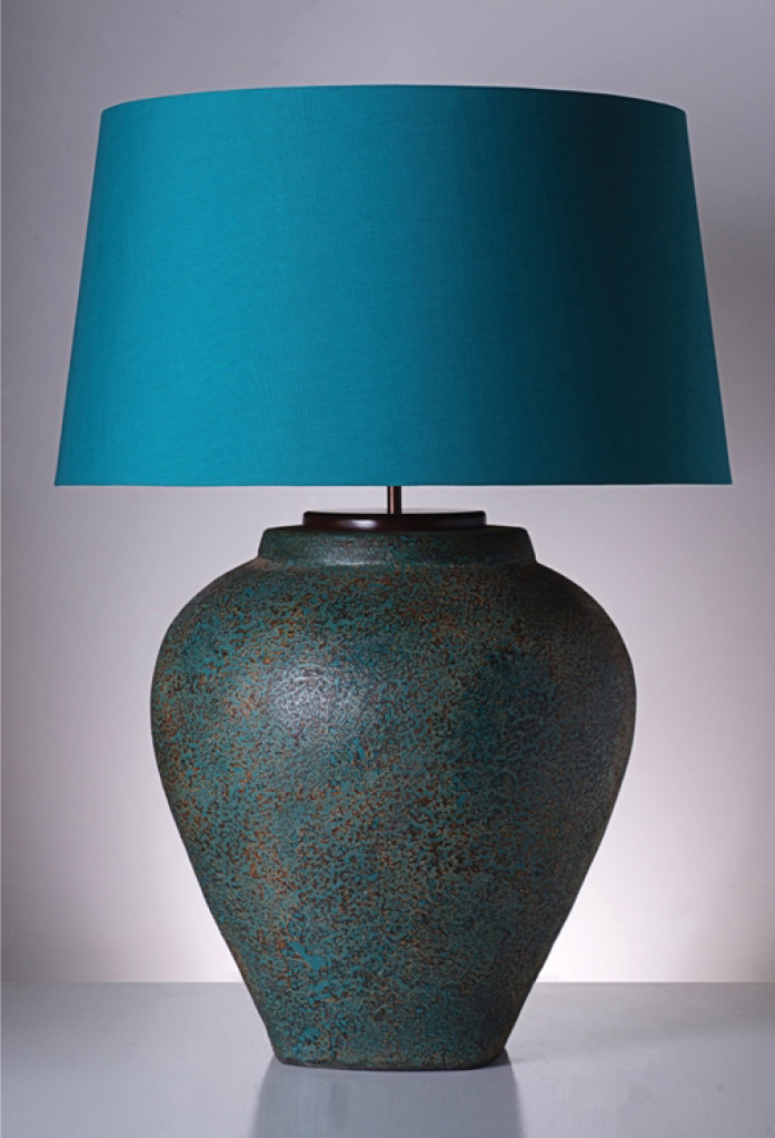 piment rouge custom lighting manufacturer - rustic guci in turquoise