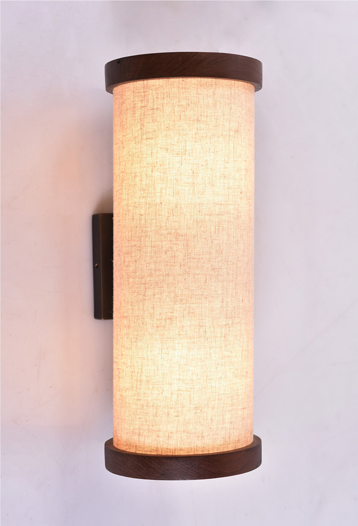 piment rouge custom lighting manufacturer - wooden iona wall sconce