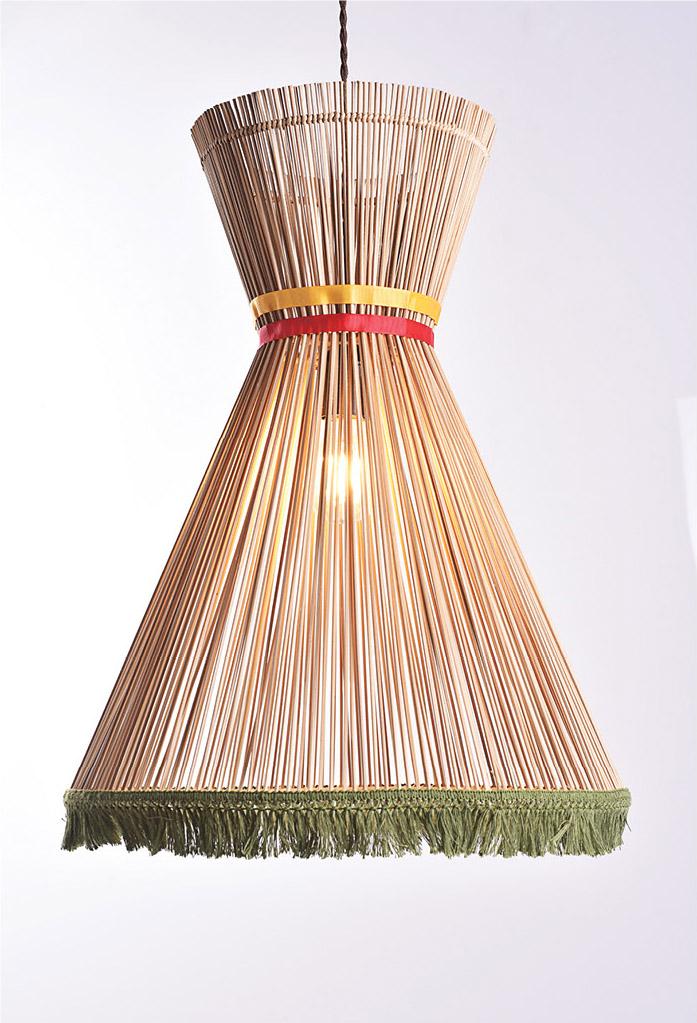 piment rouge custom lighting manufacturer - zora pendant lamp