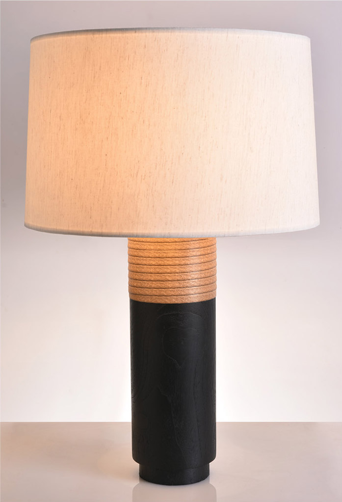 piment rouge custom lighting manufacturer bali indonesia - ando table lamp