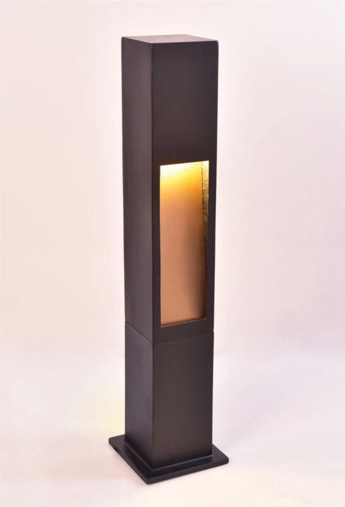 piment rouge custom lighting manufacturer - resin frame outdoor lamp - frame-resin